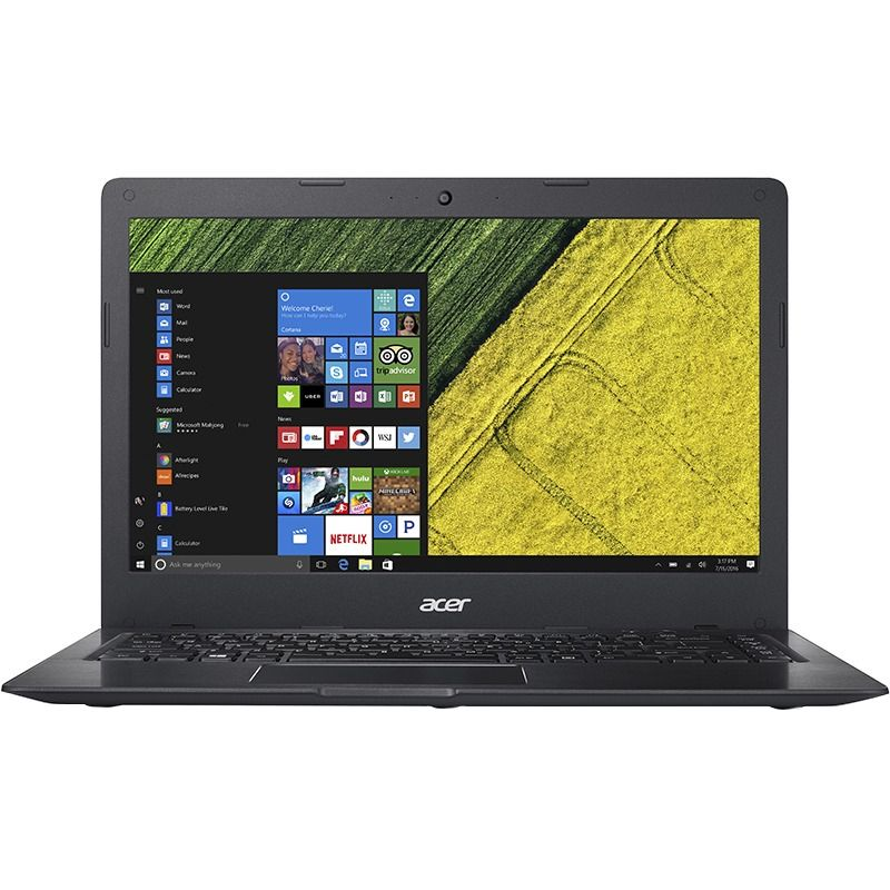 Ultrabook Acer Swift 1 SF114 14 HD Intel Pentium N3710 RAM 4GB eMMC 64GB Windows 10 Home Negru