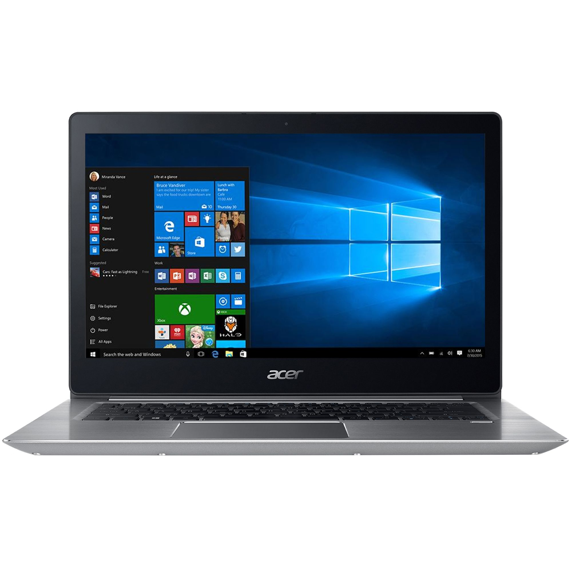 Ultrabook Acer Swift SF314-52 14 Full HD Intel Core i5-8250U RAM 8GB SSD 256GB Windows 10 Home Argintiu