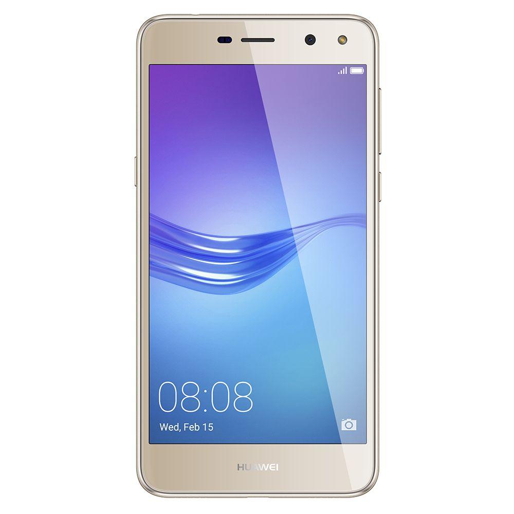 Telefon Mobil Huawei Y6 2017 16GB Flash 2GB RAM Dual SIM 4G Gold