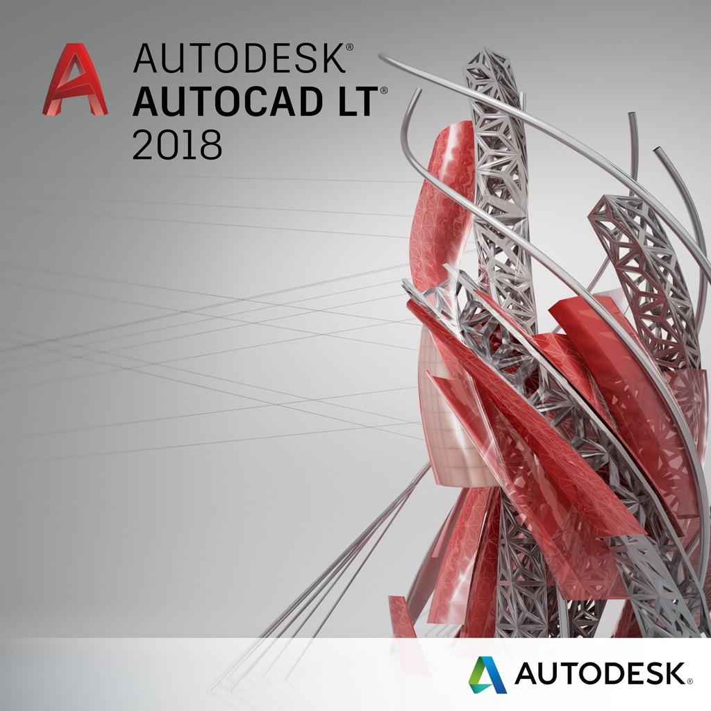 Autodesk AutoCAD LT 2018 Commercial 1 an 1 user