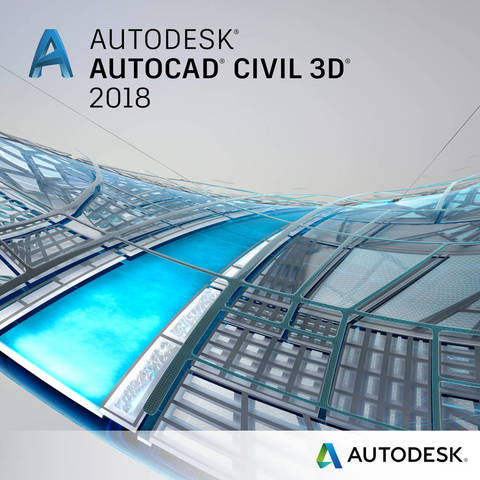 Autodesk AutoCAD Civil 3D 2018 Commercial 1 an 1 user SPZD