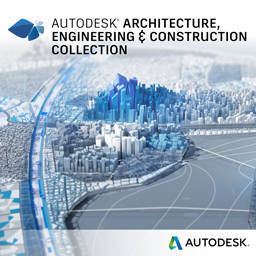 Autodesk Architecture Engineering & Construction Collection IC Commercial 1 an 1 user SPZD