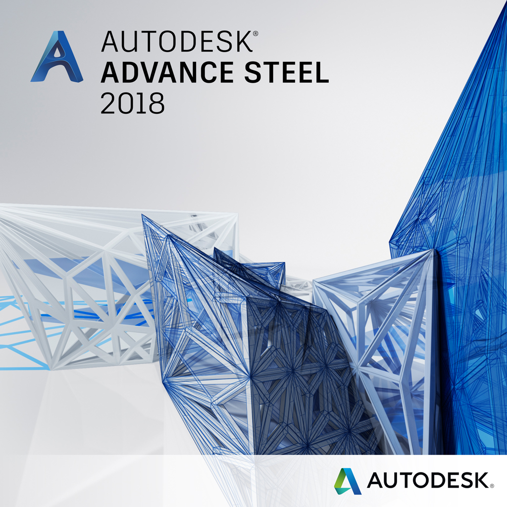 Autodesk Advance Steel 2018 Commercial 1 an 1 user SPZD