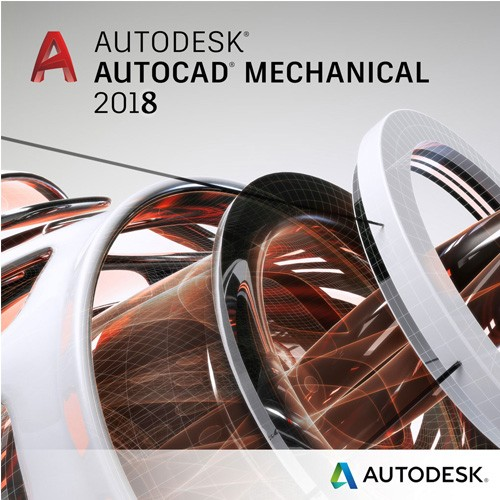 Autodesk AutoCAD Mechanical 2018 Commercial 1 an 1 user SPZD