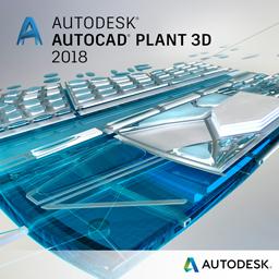 Autodesk AutoCAD Plant 3D 2018 Commercial 1 an 1 user SPZD