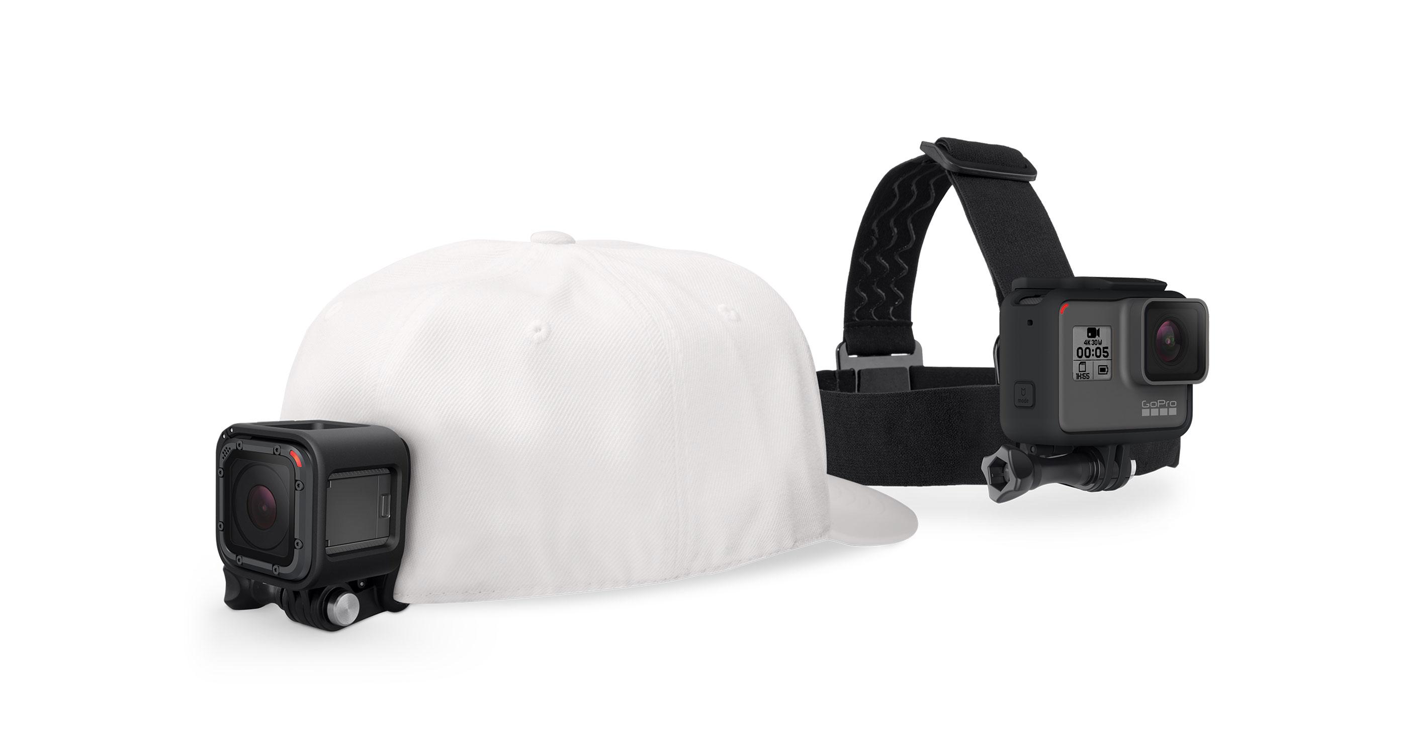 Sistem prindere haine GoPro Headstrap + QuickClip ACHOM-001