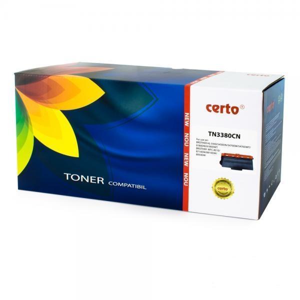 Cartus Toner Certo Compatibil pentru Brother HL-5440D 8000 pagini Black