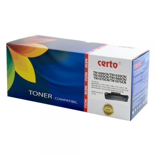 Cartus Toner Certo Compatibil pentru Brother HL-1110E 1000 pagini Black