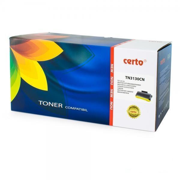 Cartus Toner Certo Compatibil pentru Brother HL-5240 3500 pagini Black