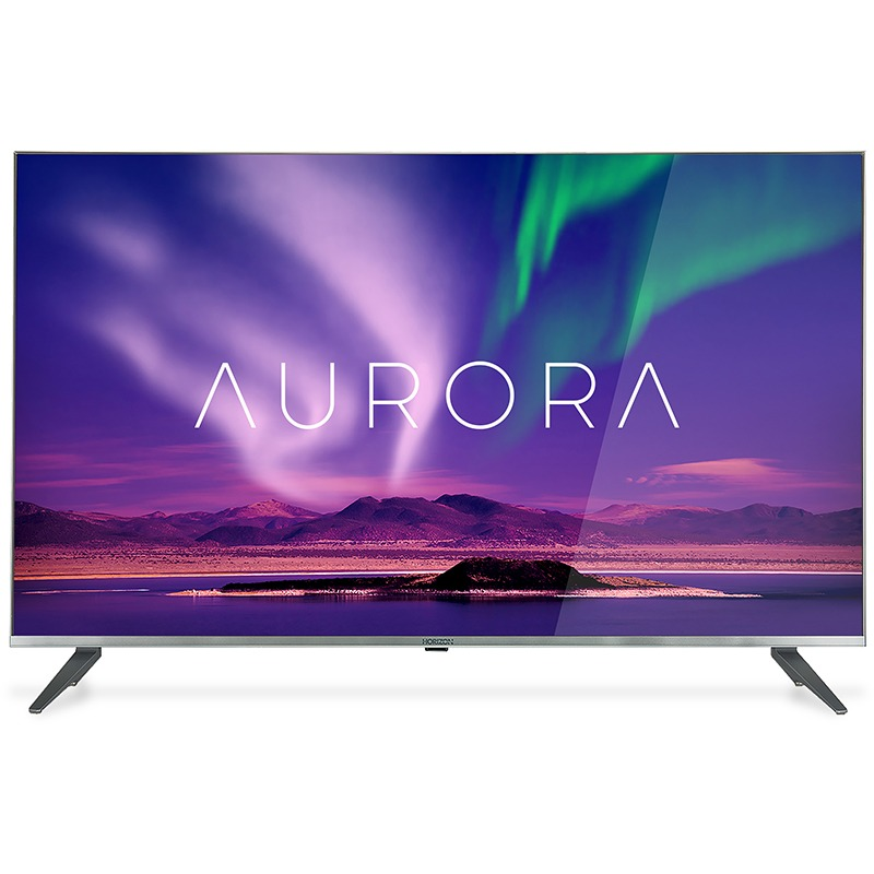 Televizor LED Horizon Smart TV Aurora 55HL9910U 140cm 4K Ultra HD Argintiu