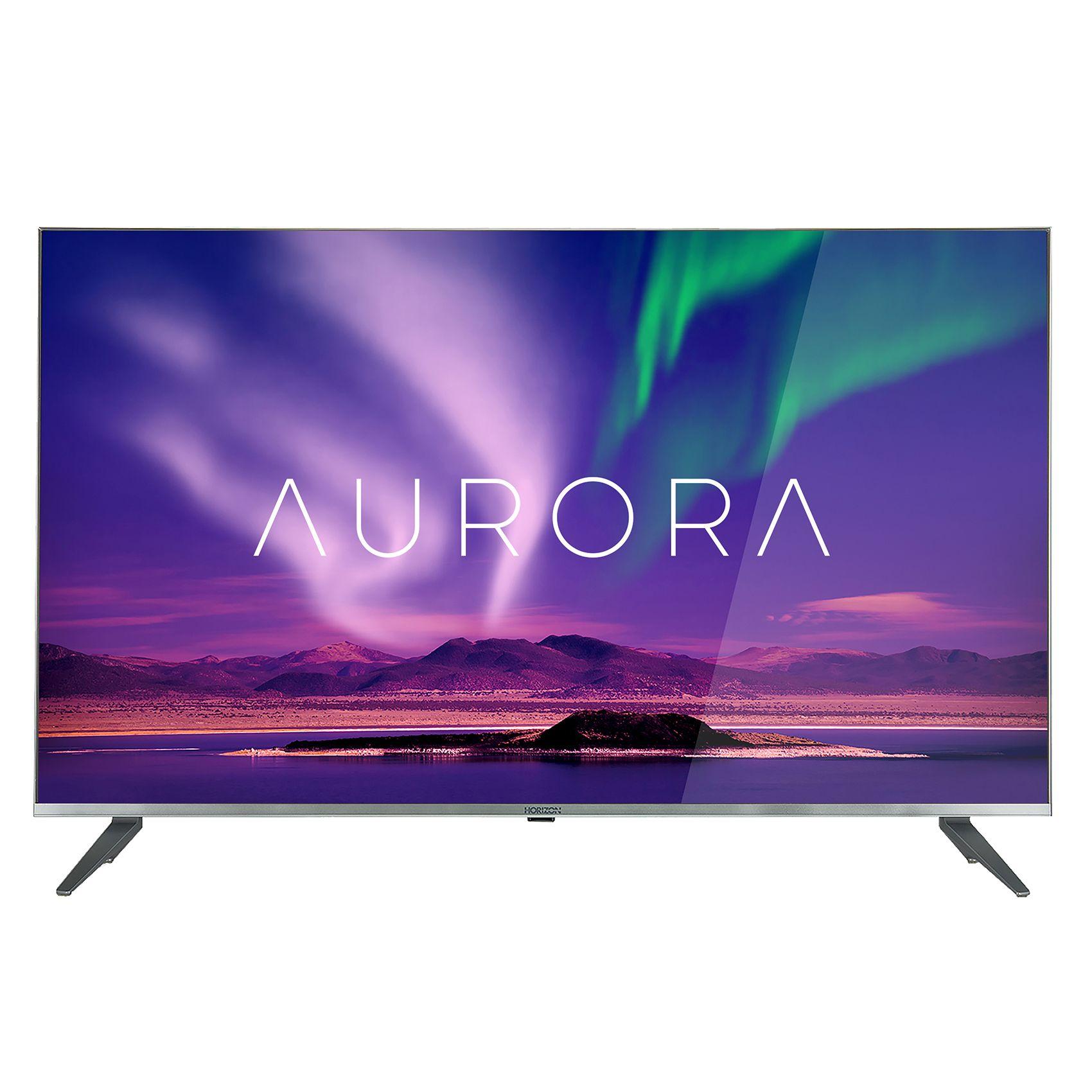 Televizor LED Horizon Smart TV Aurora 49HL9910U 124cm 4K Ultra HD Argintiu