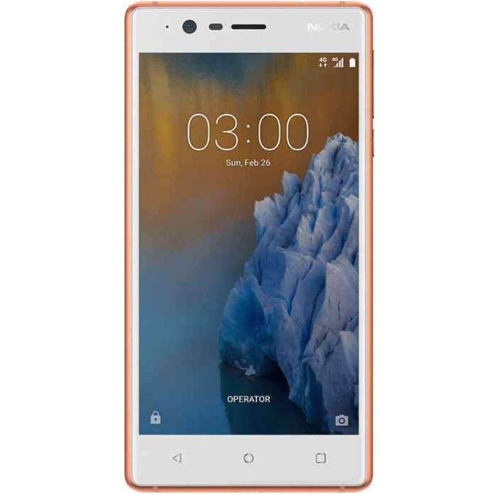 Telefon Mobil Nokia 3 16GB Flash 2GB RAM Dual SIM 4G Copper White