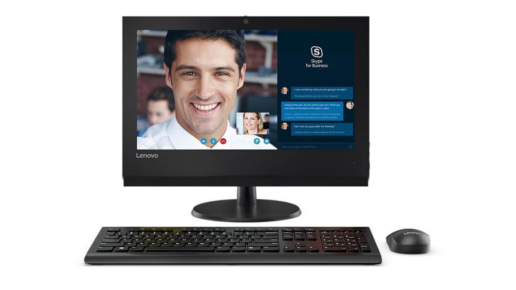 Sistem All-In-One Lenovo V310z 19.5 Intel Core i3-7100 RAM 4GB HDD 1TB No OS