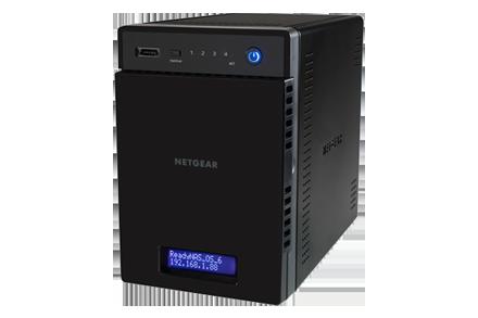 Nas Netgear ReadyNAS RN214 Gigabit 4-bay fara HDD-uri