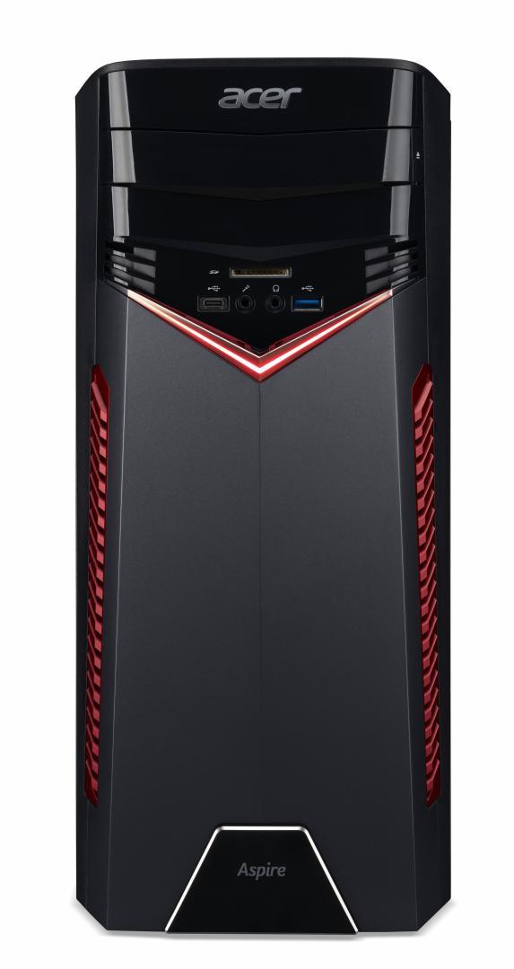 Sistem Brand Acer Aspire GX-281 AMD Ryzen 5 1400 GTX 1050Ti-4GB RAM 8GB HDD 1TB Endless