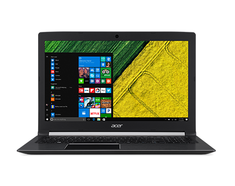 Notebook Acer Aspire A517 17.3 Full HD Intel Core i5-8250U MX150-2GB RAM 4GB HDD 1TB Linux