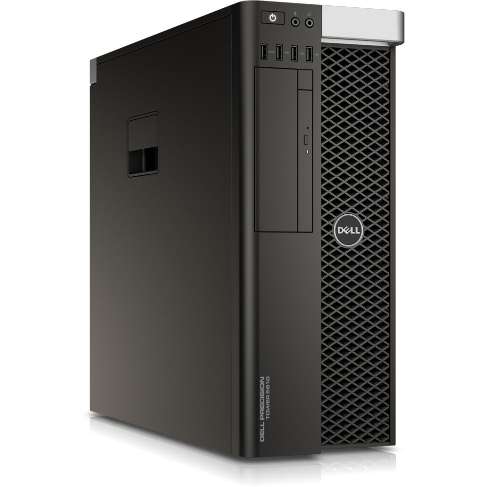 Sistem Brand Dell Precision T5810 Intel Xeon E5-2630 v4 Quadro P5000 RAM 32GB HDD 1TB + SSD 256GB Windows 10 Pro