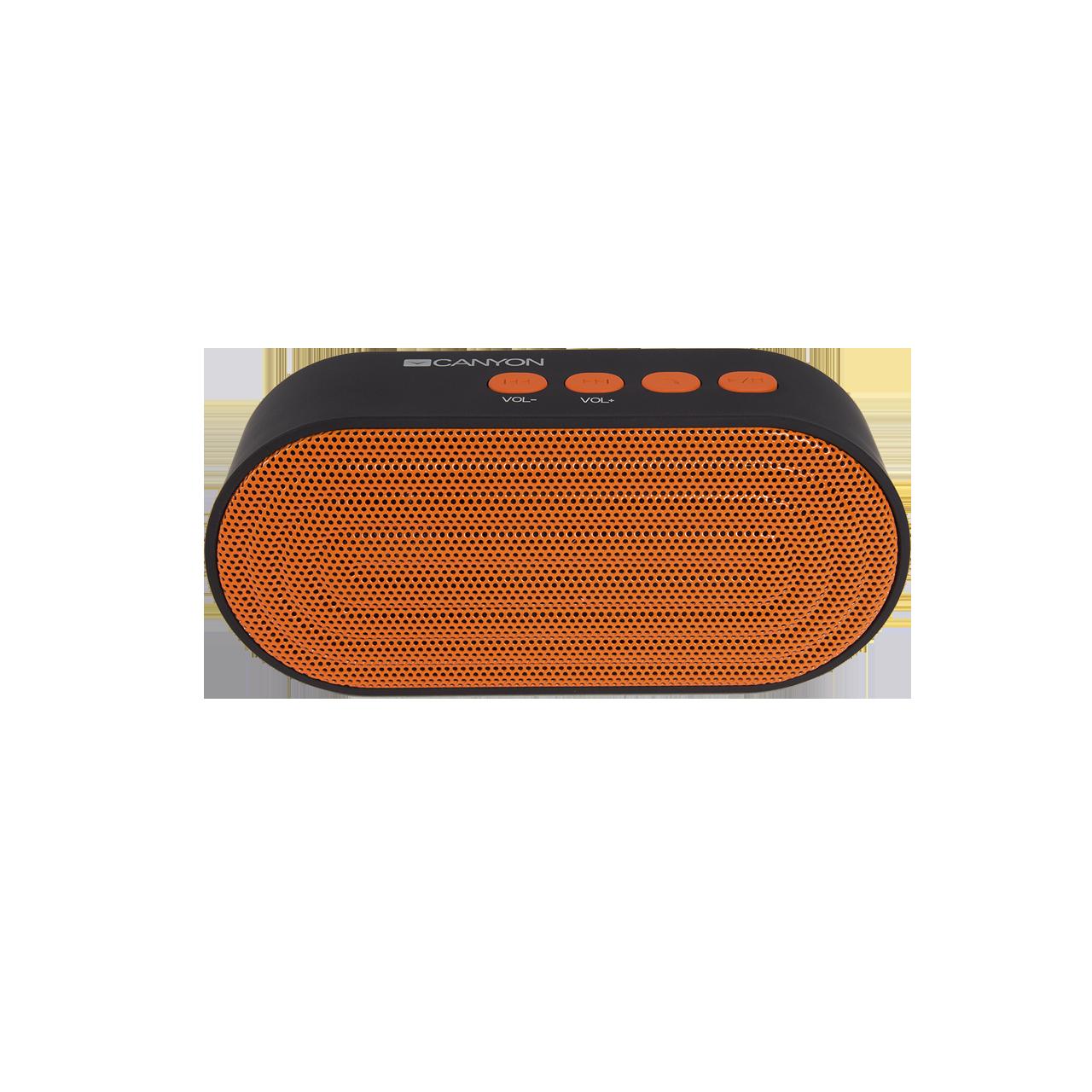 Boxa portabila Canyon CNE-CBTSP3BO Bluetooth Portocaliu