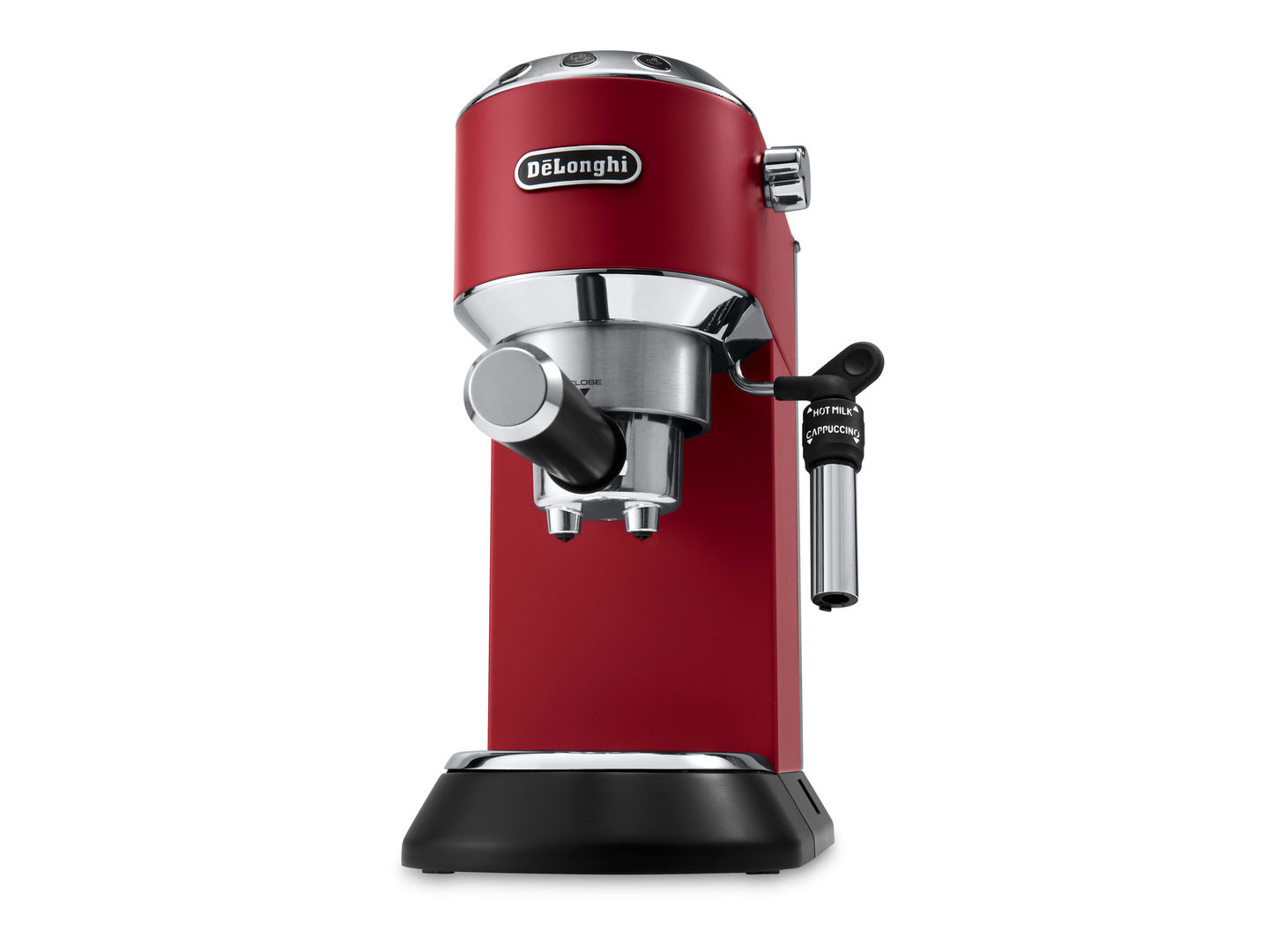 Espressor manual DeLonghi Dedica Style EC 685 1.1L 1300W Red