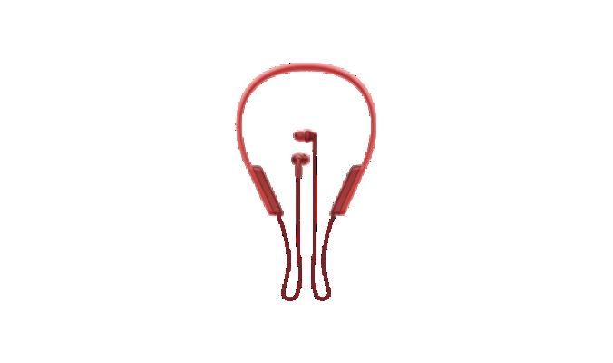 Casti Sony MDR-XB70BTR Wireless NFC Extra Bass Rosu
