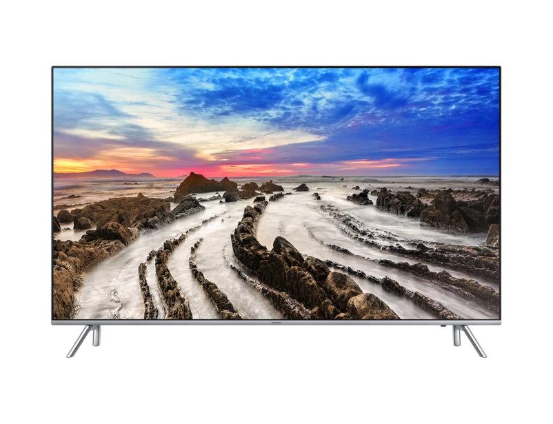 Televizor LED Samsung Smart TV UE49MU7002 123cm 4K Ultra HD WiFi Direct Argintiu