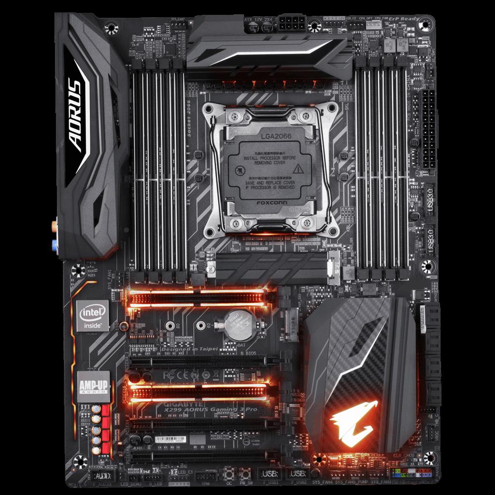 Placa de baza Gigabyte X299 AORUS Gaming 3 Pro Socket X299