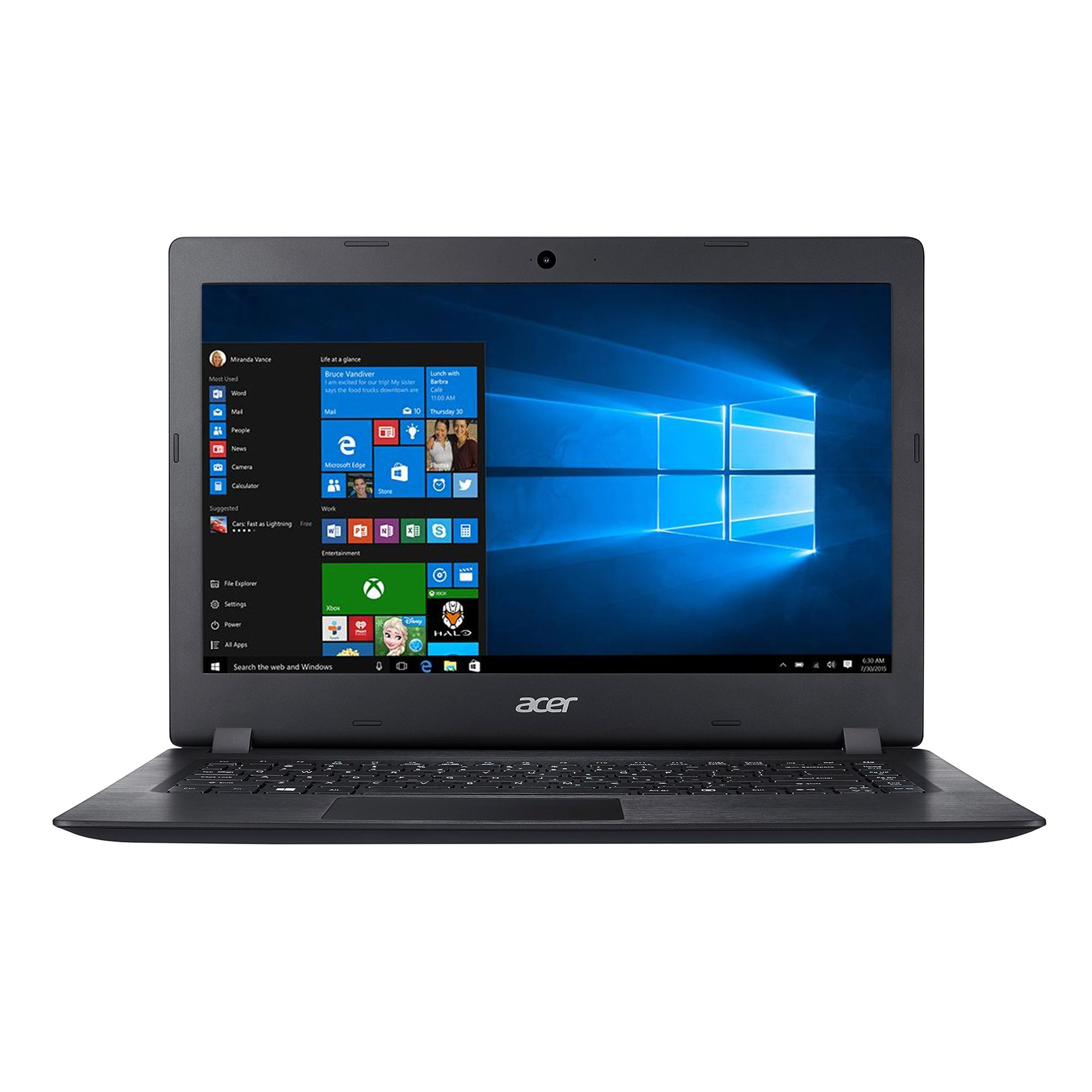 Notebook Acer Aspire A114 14 HD Intel Celeron N3450 RAM 4GB eMMC 64GB Windows 10 Negru