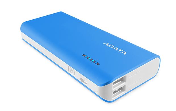 Baterie Externa A-Data PT100 10000 mAh White