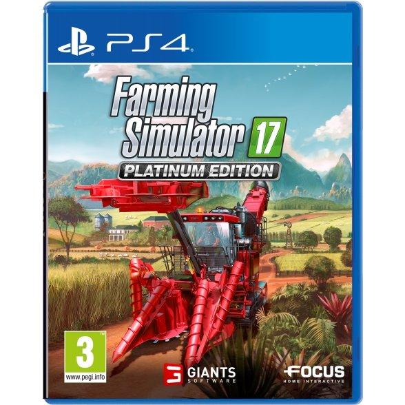 Farming Simulator 17 Platinum Edition - PS4