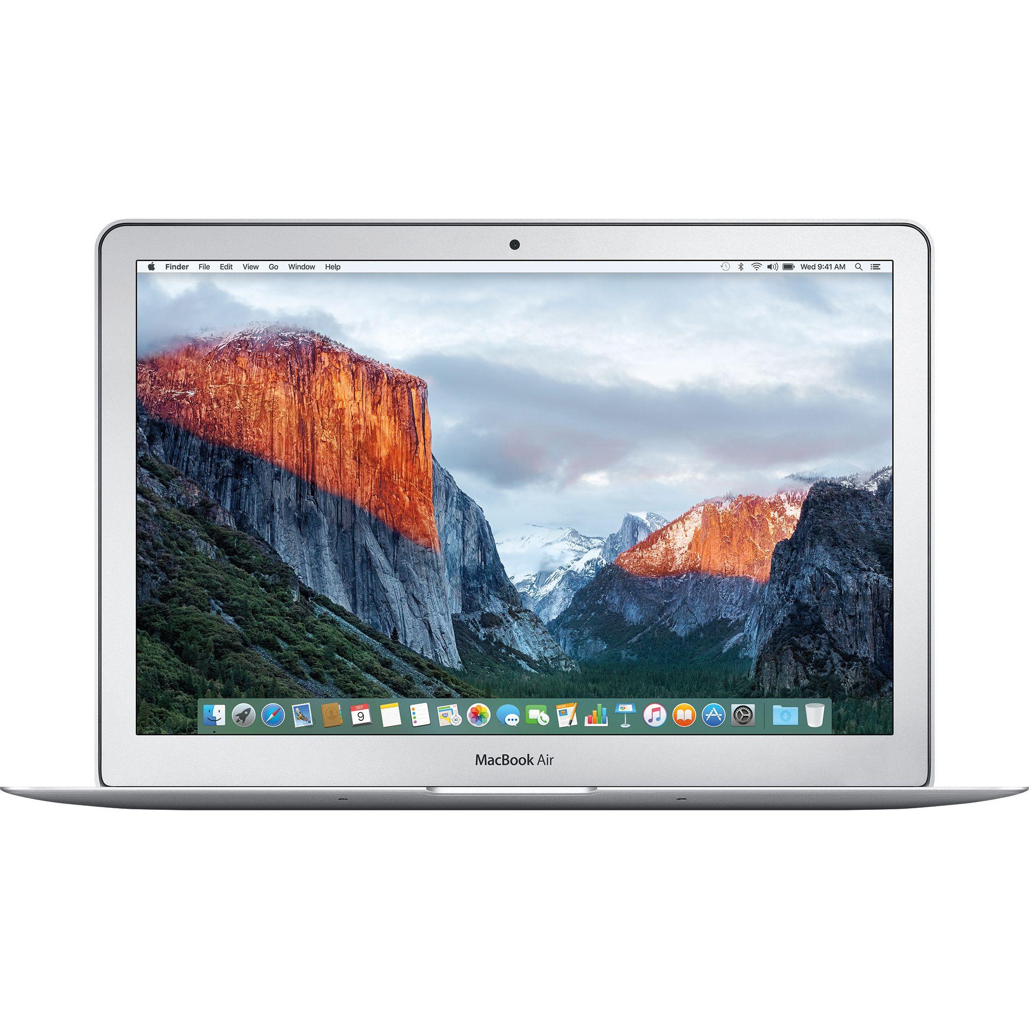 Notebook Apple MacBook Air 13 Intel Core i5 1.8 GHz RAM 8GB SSD 128GB Tastatura INT Silver