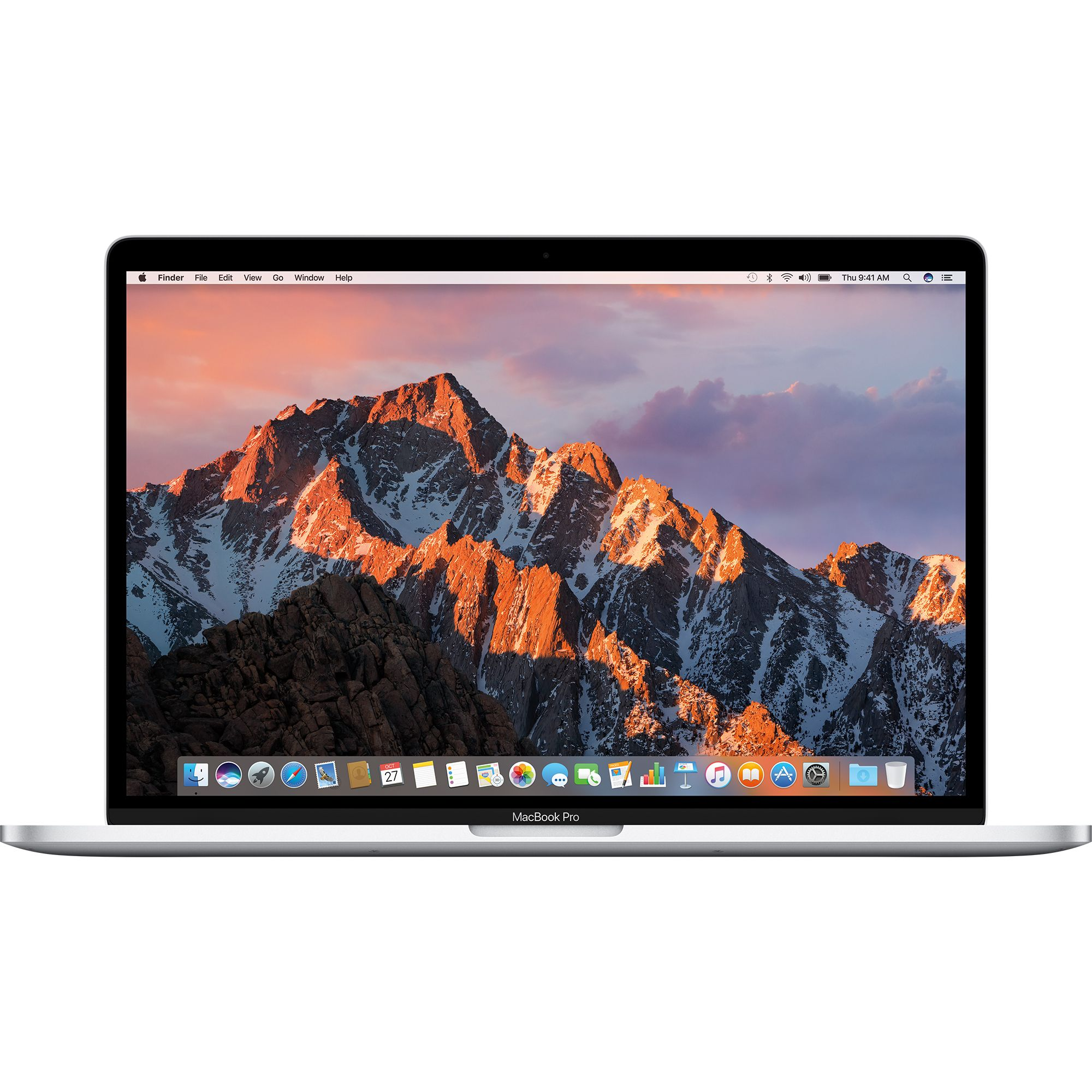 Notebook Apple MacBook Pro 15 Retina Touch Bar Intel Core i7 2.9 GHz Radeon Pro 560-4GB RAM 16GB SSD 512GB Tastatura INT Silver