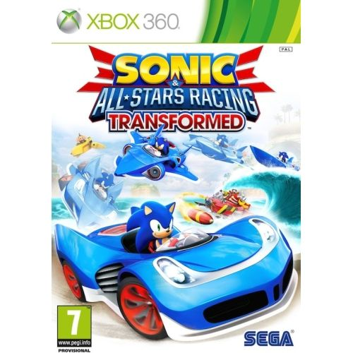Sonic & All Stars Racing Transformed Limited Edition XB360
