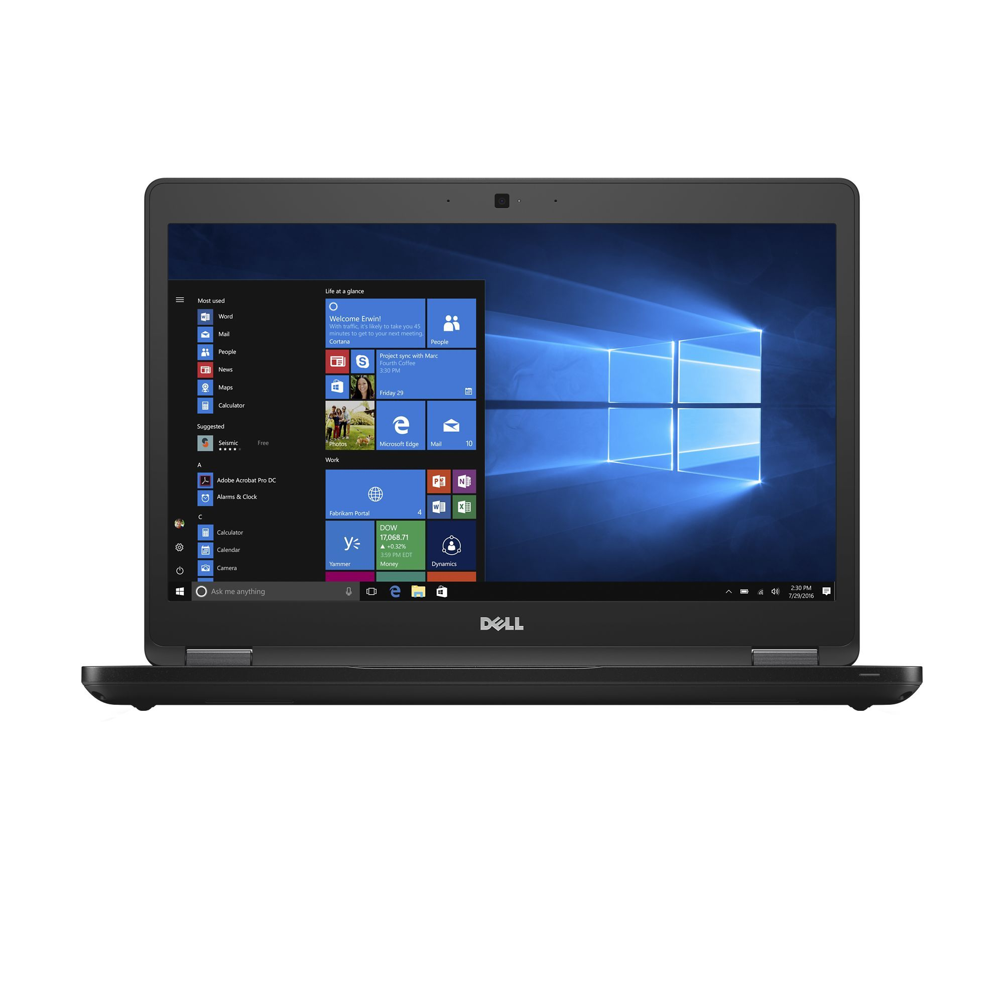 Notebook Dell Latitude 5480 14 Full HD Intel Core i5-7440HQ 930MX-2GB RAM 8GB SSD 256GB Windows 10 Pro