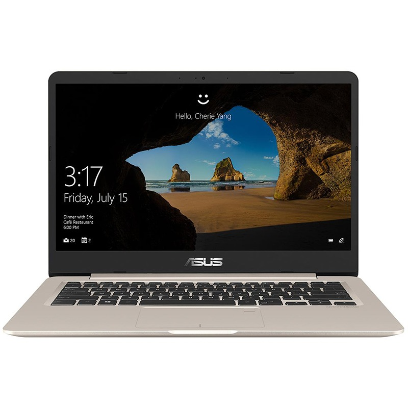 Ultrabook Asus VivoBook S14 S406UA 14 Full HD Intel Core i7-8550U RAM 8GB SSD 256GB Windows 10 Home Auriu