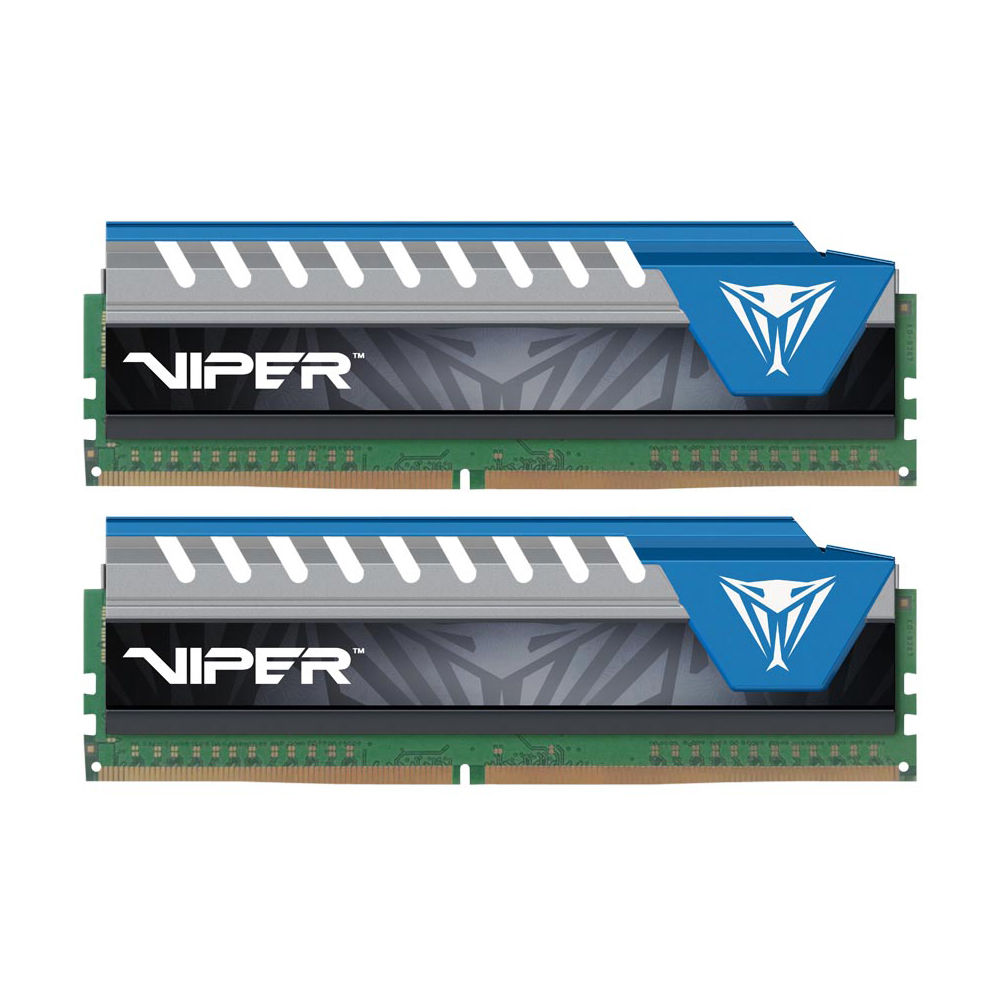 Memorie Desktop Patriot Viper Elite 8GB (2 x 4GB) DDR4 2666Mhz Black/Blue