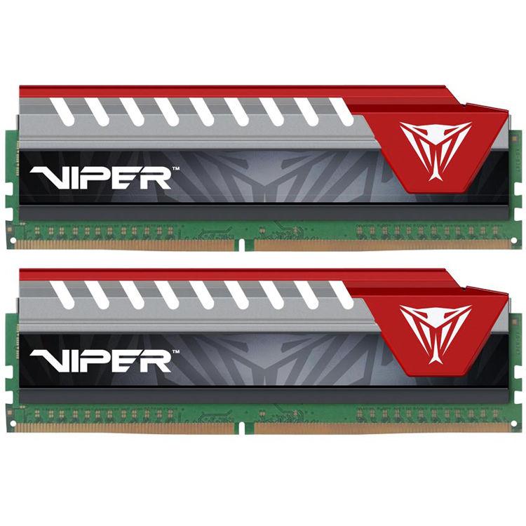 Memorie Desktop Patriot Viper Elite 16GB (2 x 8GB) DDR4 2800MHz Red