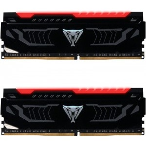 Memorie Desktop Patriot Viper LED 16GB (2 x 8GB) DDR4 2400MHz Red LED