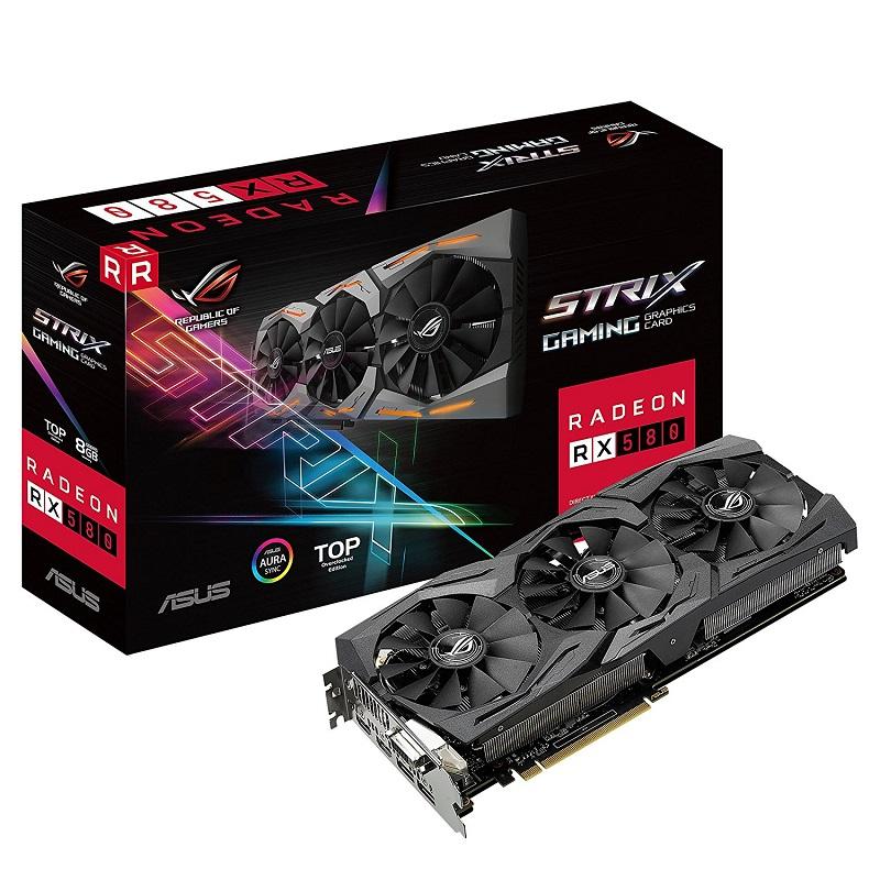 Placa Video ASUS ROG Strix Radeon RX 580 Gaming 8GB GDDR5 256 biti