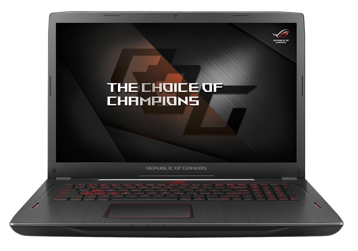 Notebook Asus ROG Strix GL702ZC 17.3 Full HD AMD Ryzen 5-1600 RX 580-4GB RAM 8GB HDD 1TB Windows 10 Home Negru