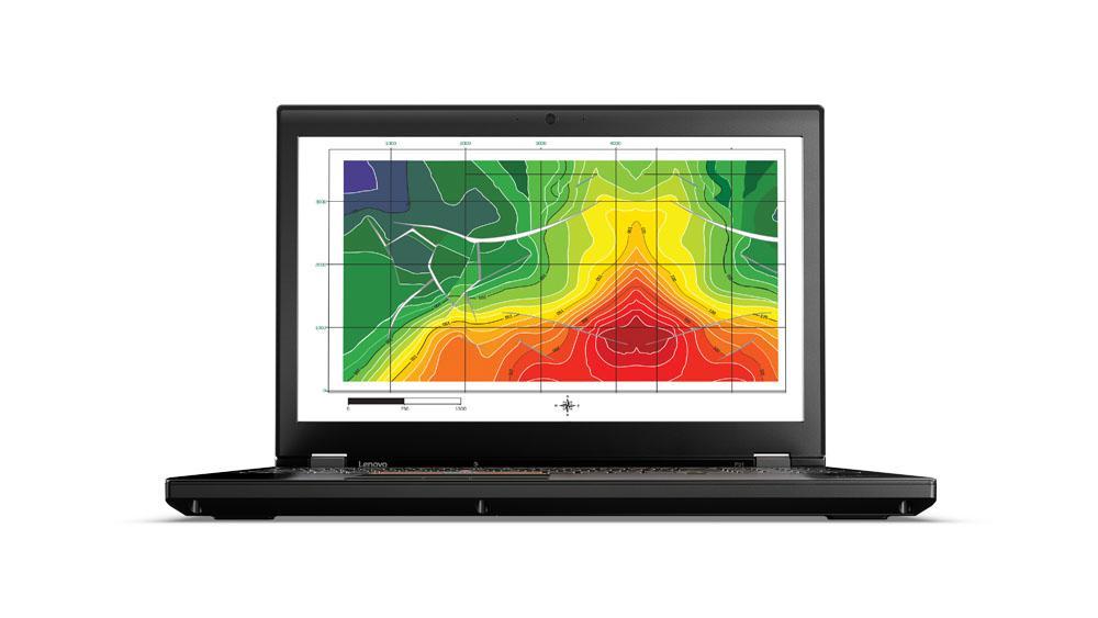 Notebook Lenovo ThinkPad P51 15.6 Ultra HD Intel Core i7-7820HQ Quadro M2200M-4GB RAM 16GB SSD 512GB Windows 10 Pro