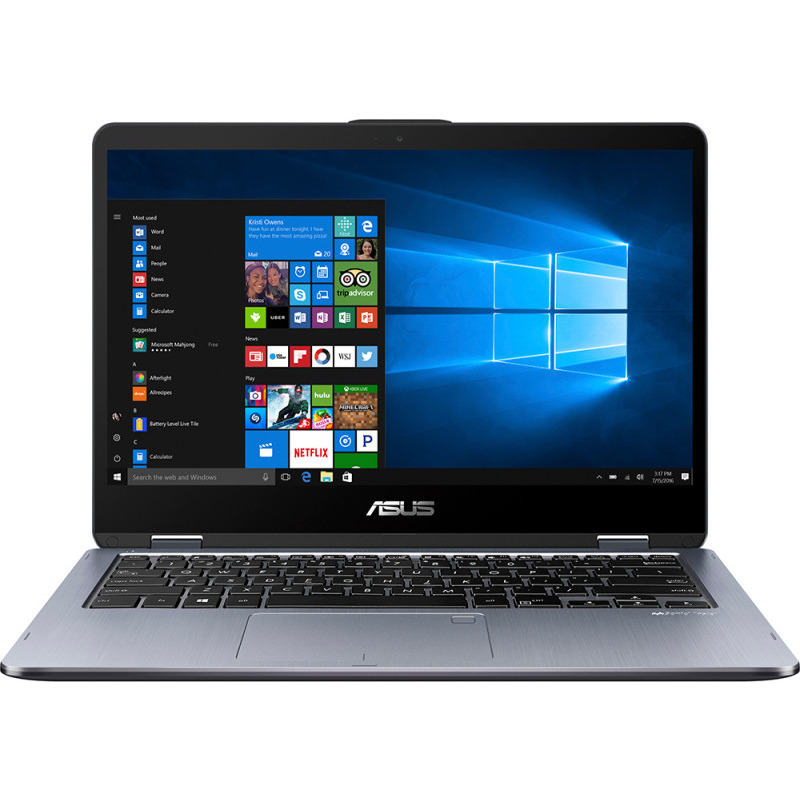 Ultrabook Asus Transformer Book Flip TP410UA 14 Full HD Intel Core i5-8250U RAM 4GB HDD 500GB + SSD 128GB Windows 10 Home Gri
