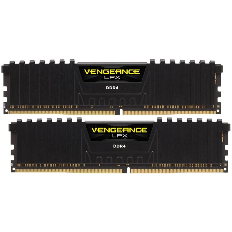 Memorie Desktop Corsair Vengeance LPX Black 16GB(2 x 8GB) DDR4 2400MHz