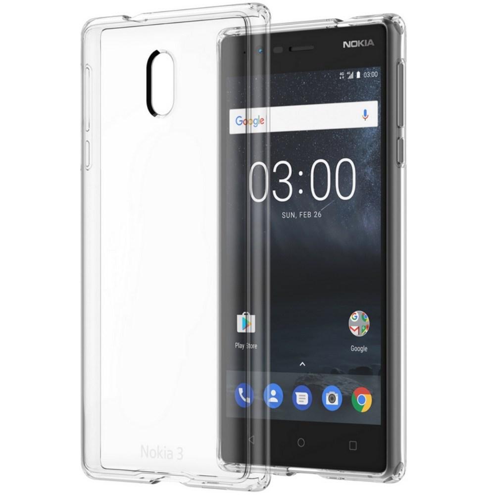 Capac protecte Hybrid Crystal Nokia CC-705 pentru Nokia 3 Transparent