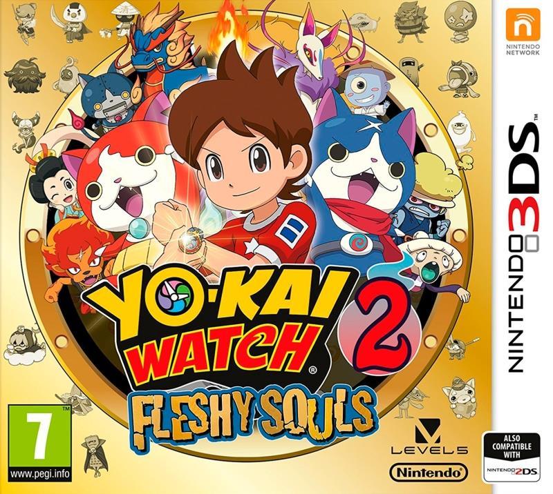 Yo-Kai Watch 2 Fleshy Souls - 3DS