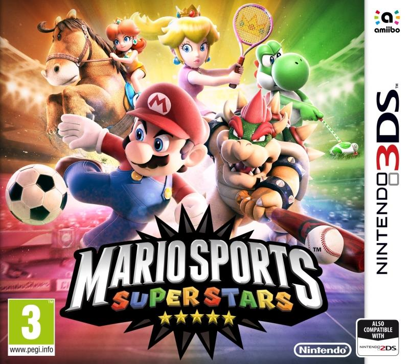 Mario Sports Superstars & 1 Amiibo Card - 3DS