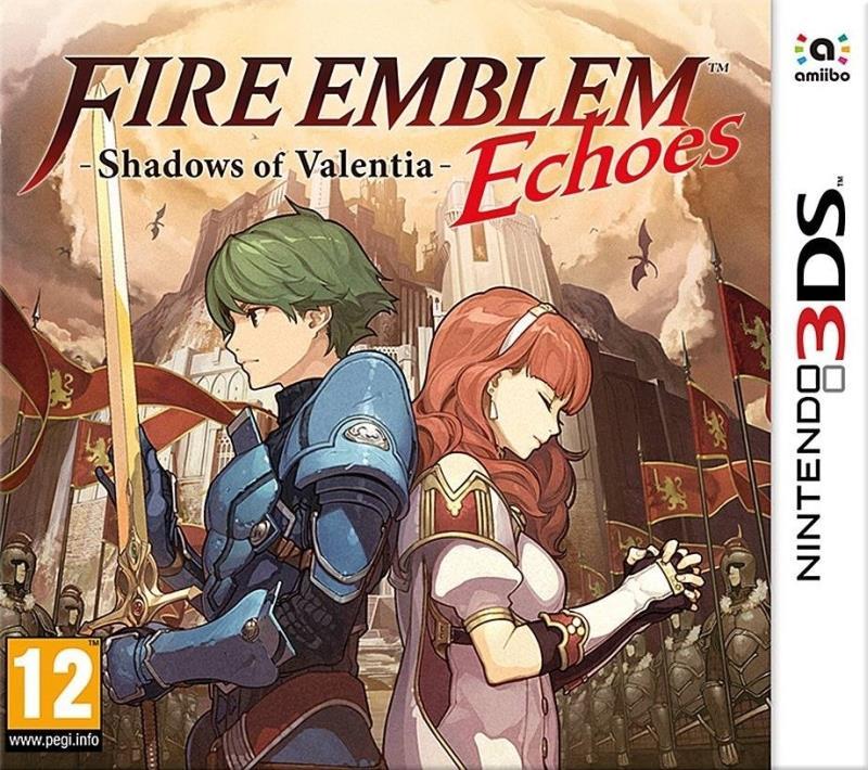 Fire Emblem Echoes Shadows Of Valentia - 3DS