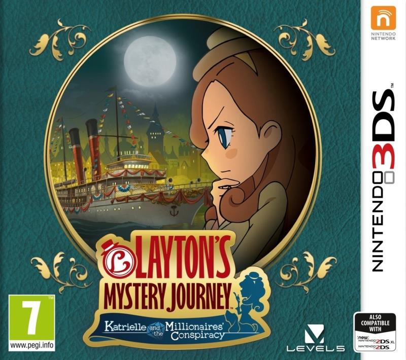 Layton'S Mystery Journey: Katrielle and the Millionaires Conspiracy - Nintendo 3DS