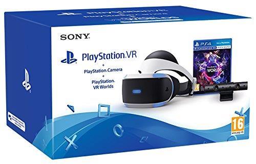 Pachet Ochelari PlayStation VR + Camera + Joc VR Worlds