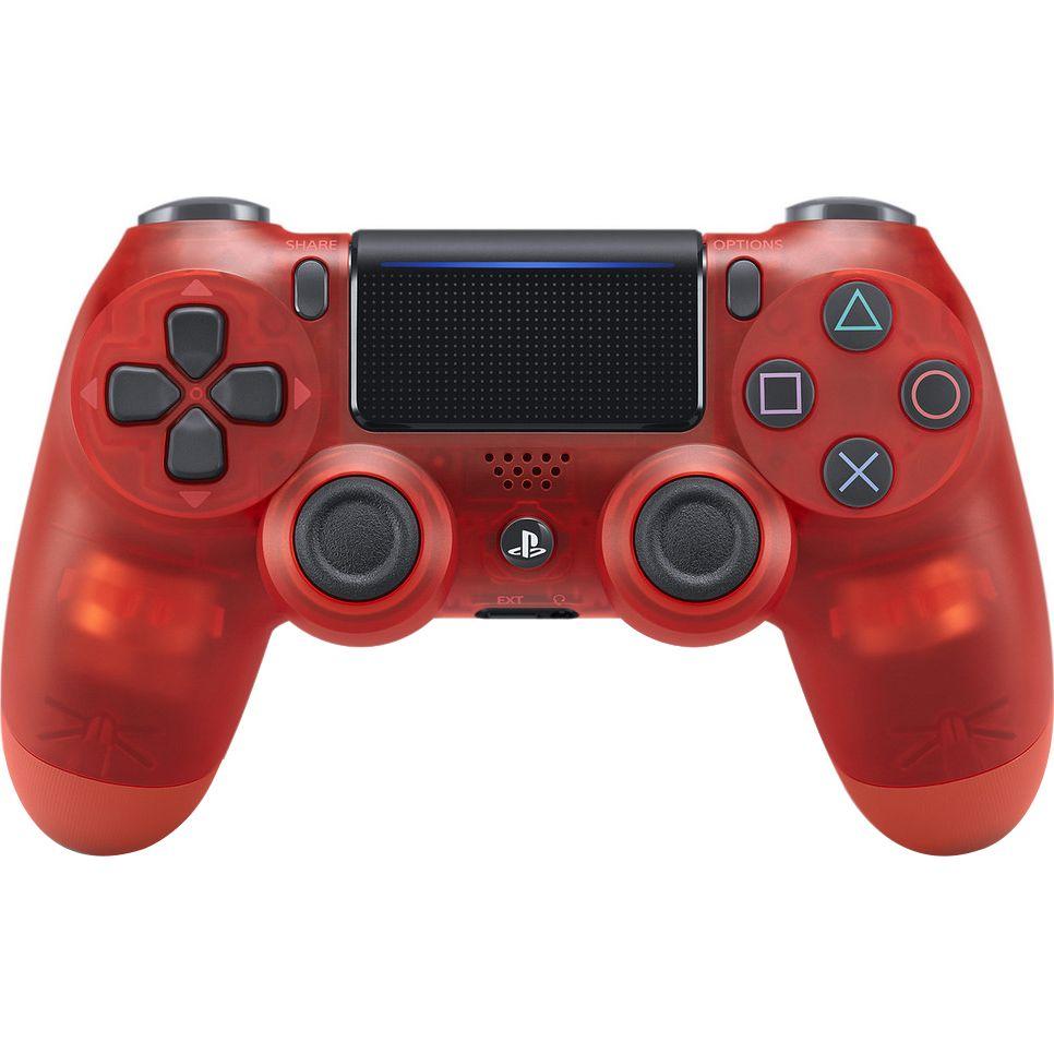 Controller PS4 Dualshock Translucent Red