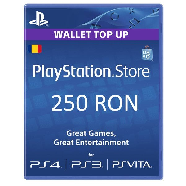 Card Sony PlayStation Store 250 RON